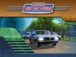 لعبة city car driving مع الكراك