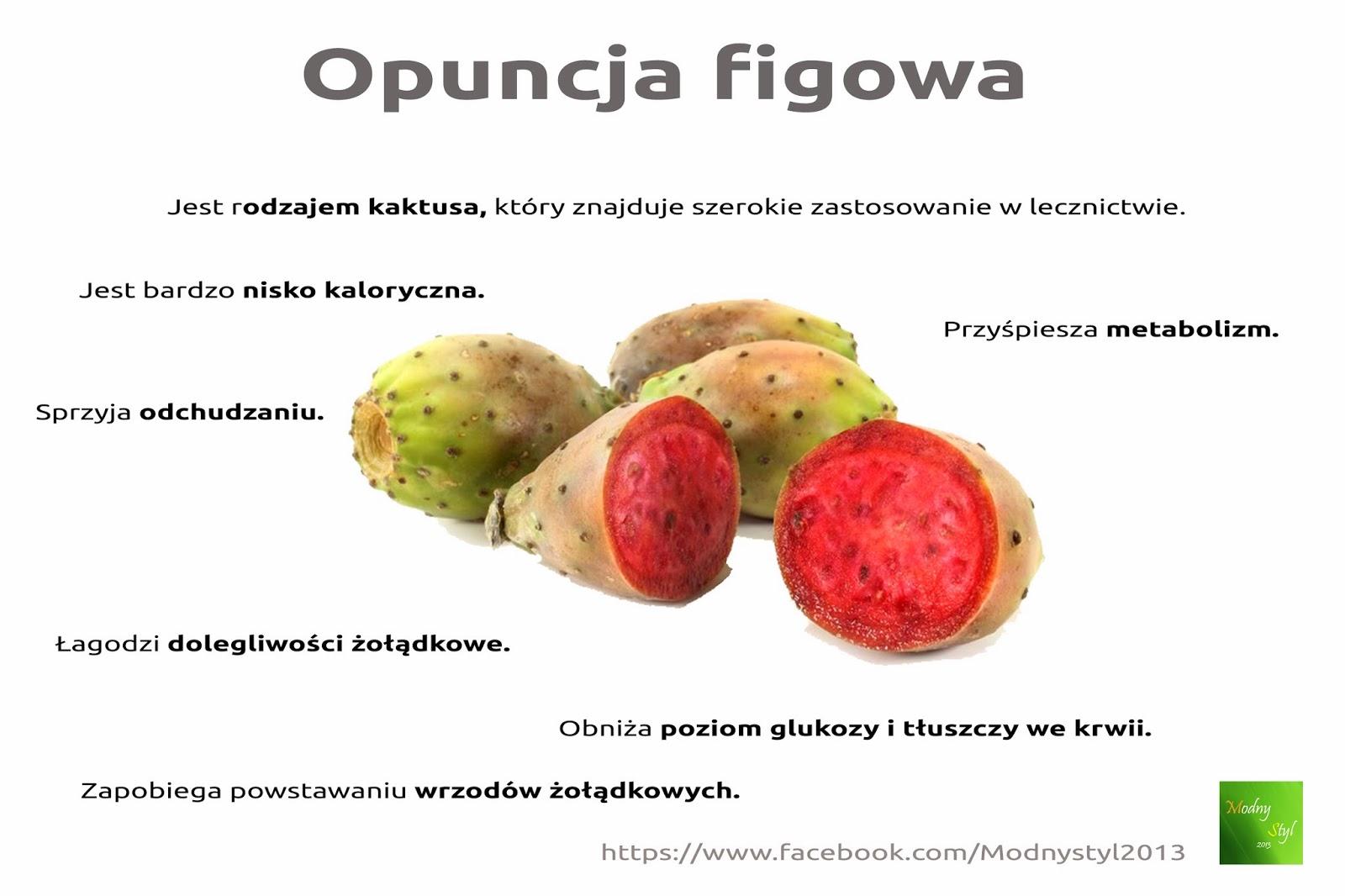 Zdrowa opuncja figowa
