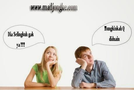 berpikir negatif dan curiga pada pasangan