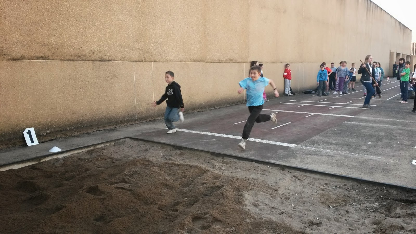 Rencontre sportive cm2