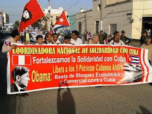 COORDINADORA NACIONAL DE SOLIDARIDAD CON CUBA PRESENTE EN CHICLAYO!!!