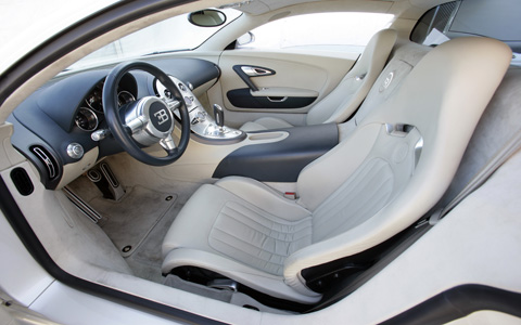 Bugatti Cars Interior on Bugatti Veyron Eb 16 4 Interior Equally Consistent Is The