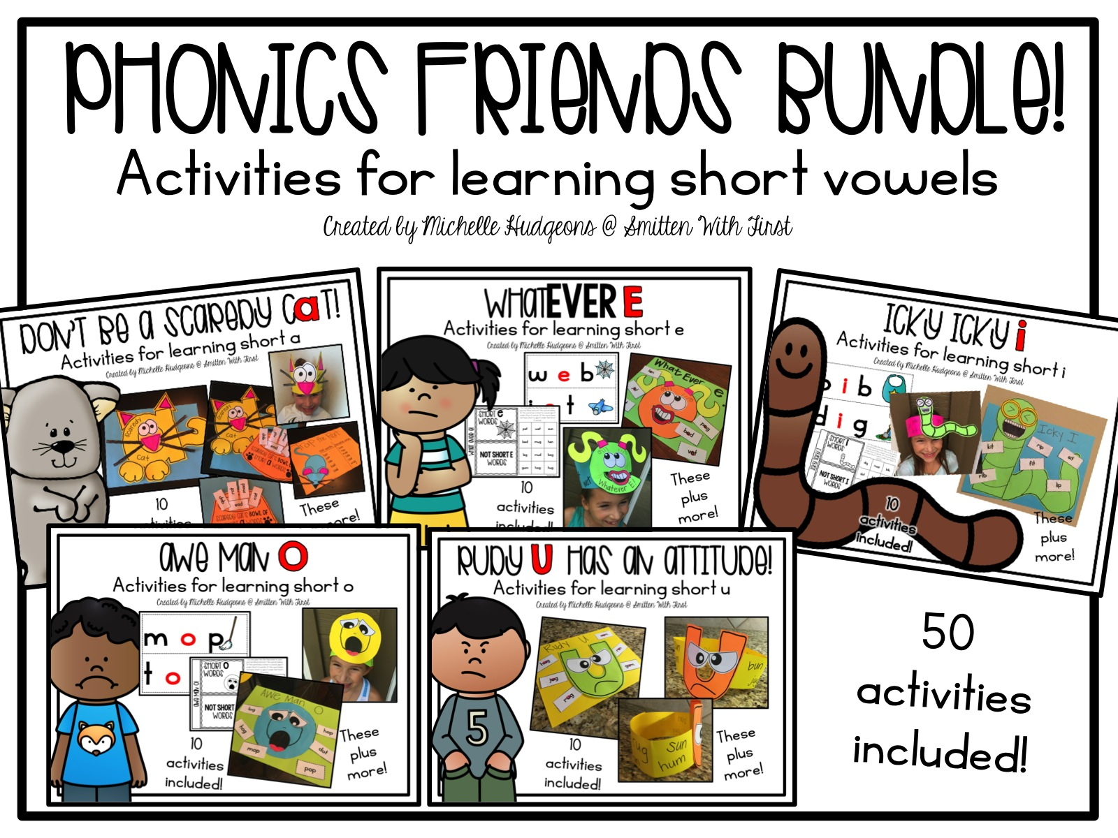 Short Vowel Phonics Friends