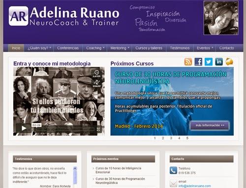 web de Adelina Ruano
