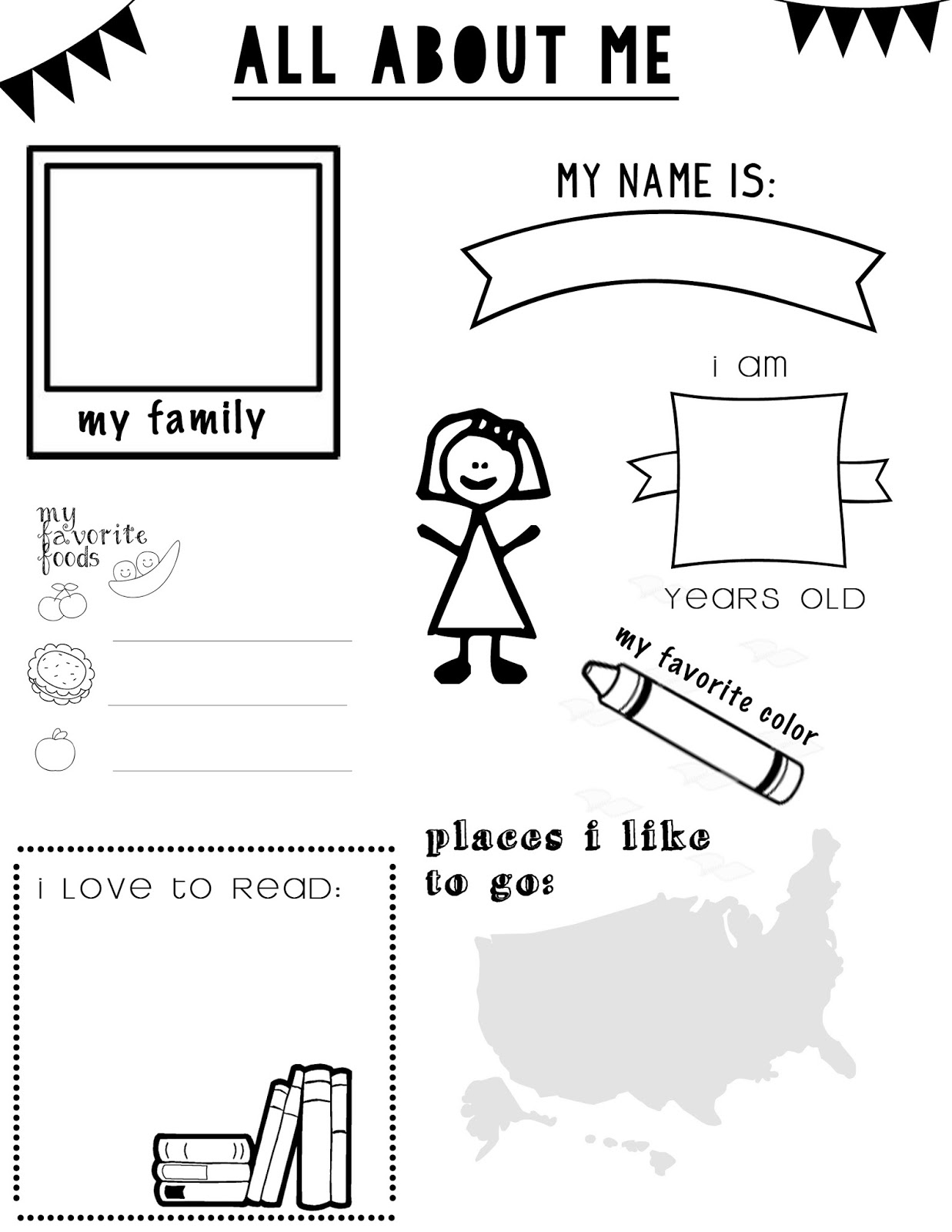 i am special coloring pages for kids - photo #25