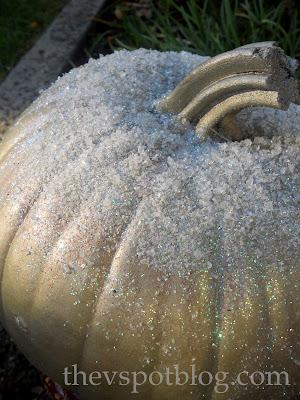 white, pumpkin, silver, glitter, frost, epsom salt