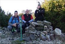 Hornillo mendiaren gailurra 996 m. - 2011ko abenduaren 25an