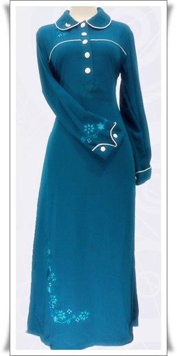 Contoh Baju Gamis Model Terbaru