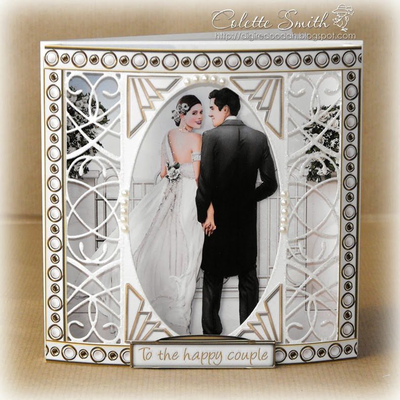 Digi Re Doo Dah Art Deco Wedding
