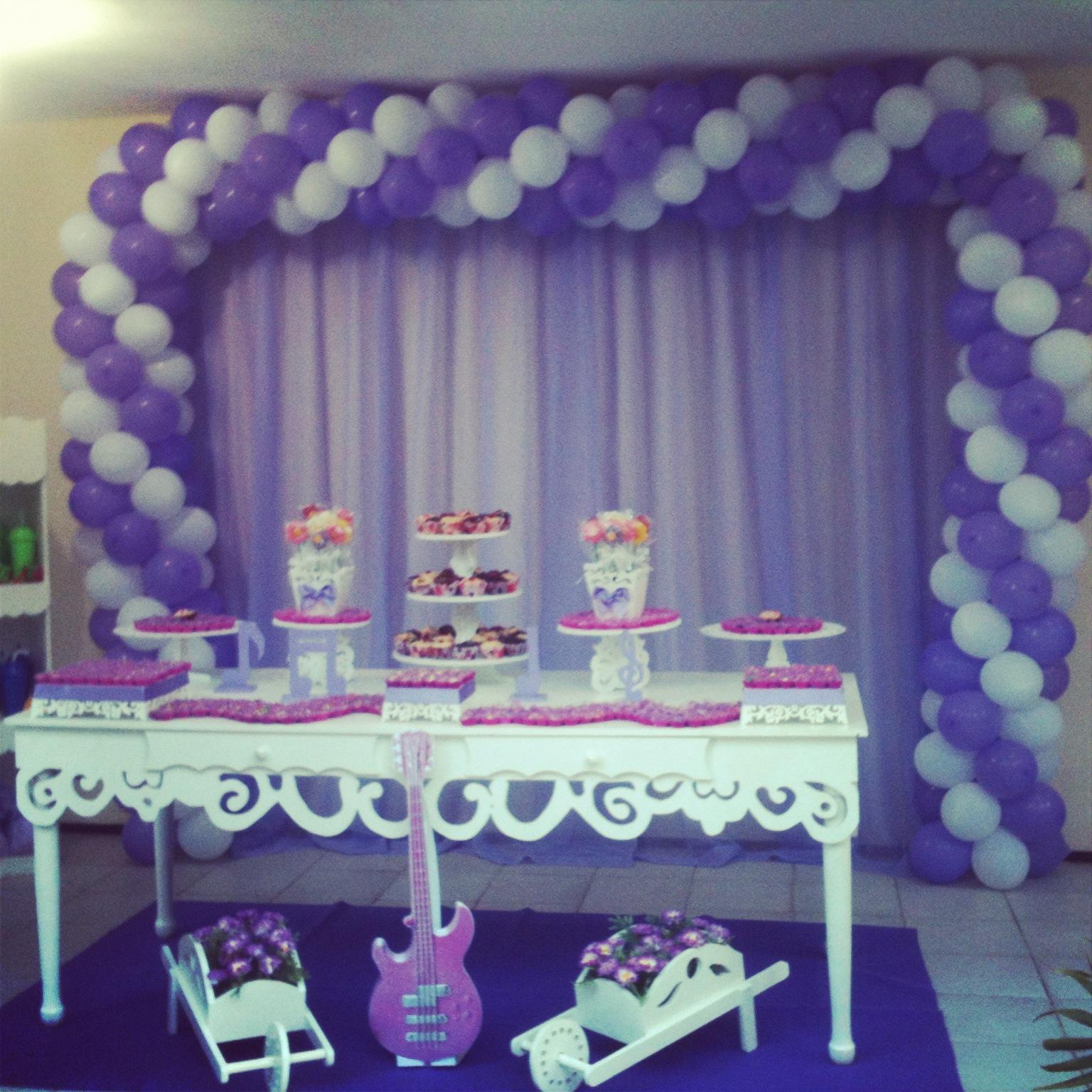 decoracao festa violeta:Sonho de Festa: FESTA VIOLETA