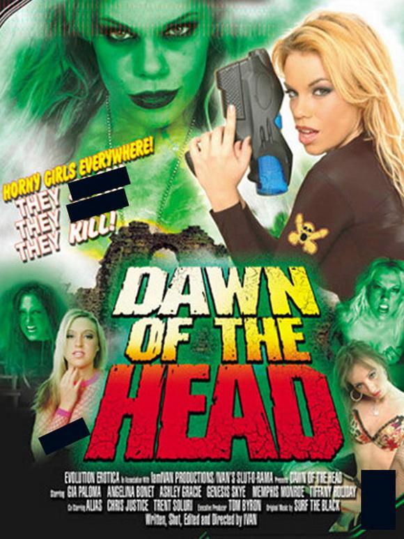 Dawn of the head porn parody