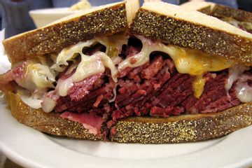http://www.food.com/recipe/beer-pastrami-sandwich-216140