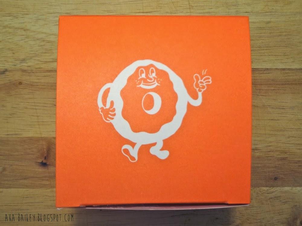 Lucky's Doughtnut box, Vancouver