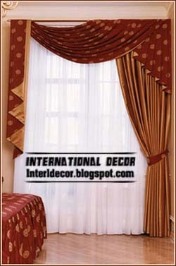 Classic Style Curtain And Blind Design 2015 For Bedroom