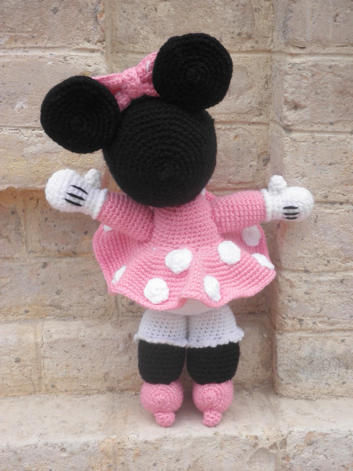Minnie Mouse Amigurumi Crochet Pattern : Minnie Mouse Amigurumi Pattern Free Joy Studio Design ...