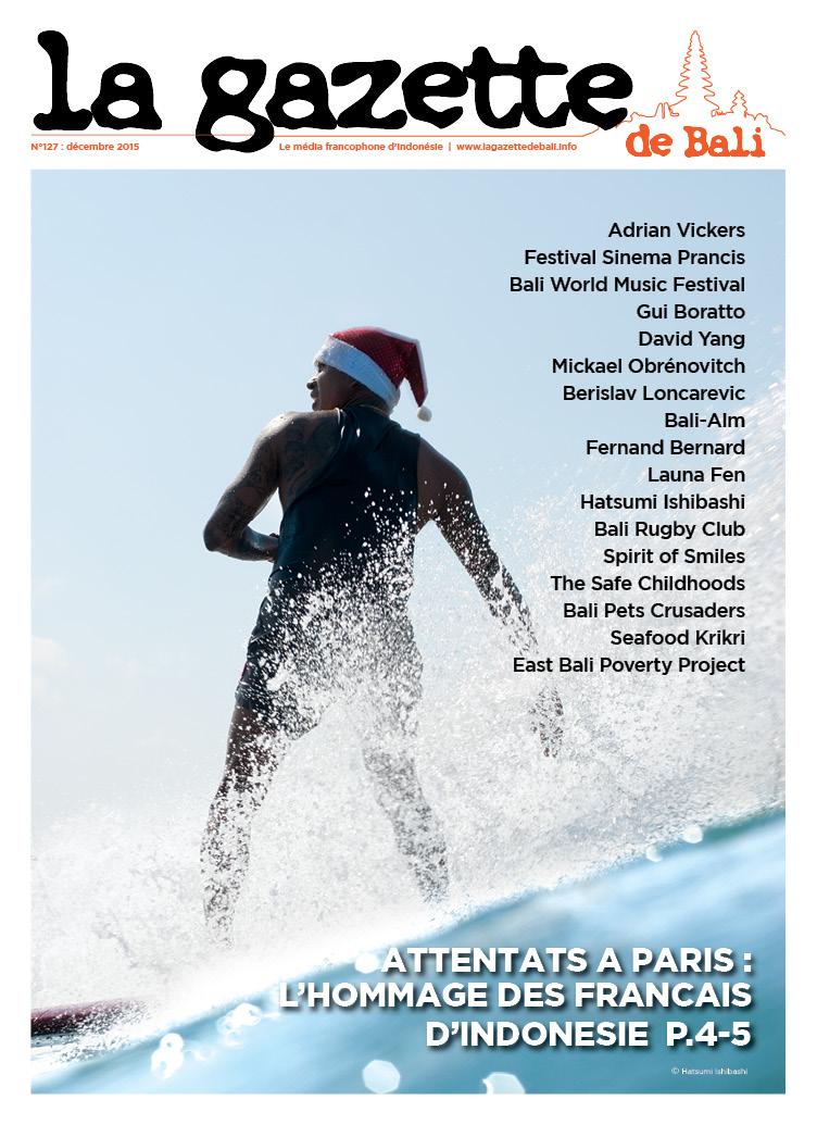 La Gazette de Bali décembre 2015