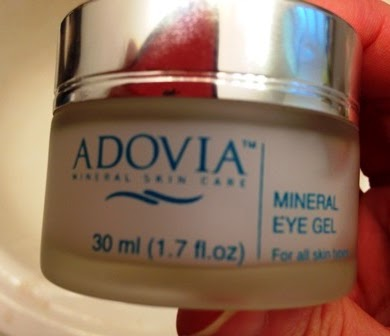 Adovia Mineral Eye Gel, Adovia Eye Cream