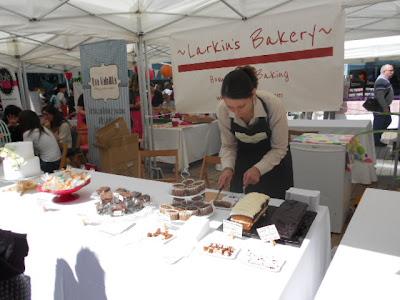 stand Larkin's Bakery en Dolç Maremagnum