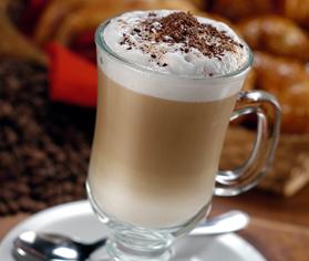 Cmo preparar un capuccino de chocolate blanco y caramelo