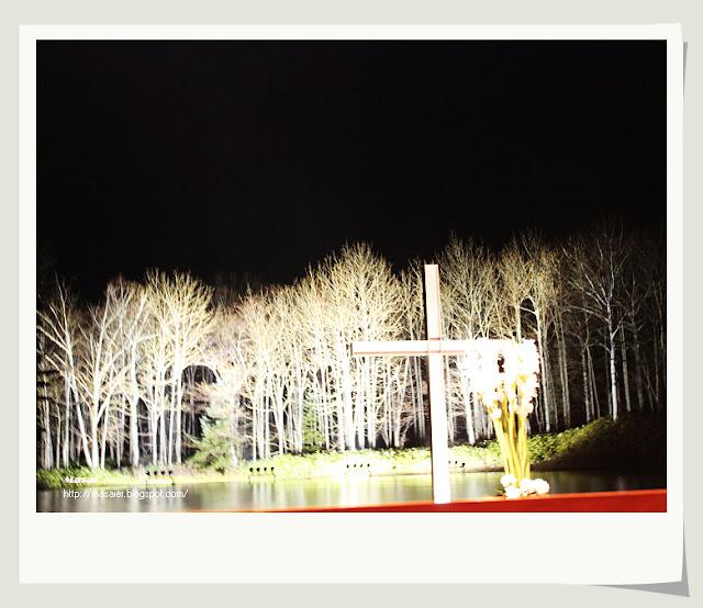 北海道星野度假村-水教堂 (梁靜茹崇拜MV拍攝地)4