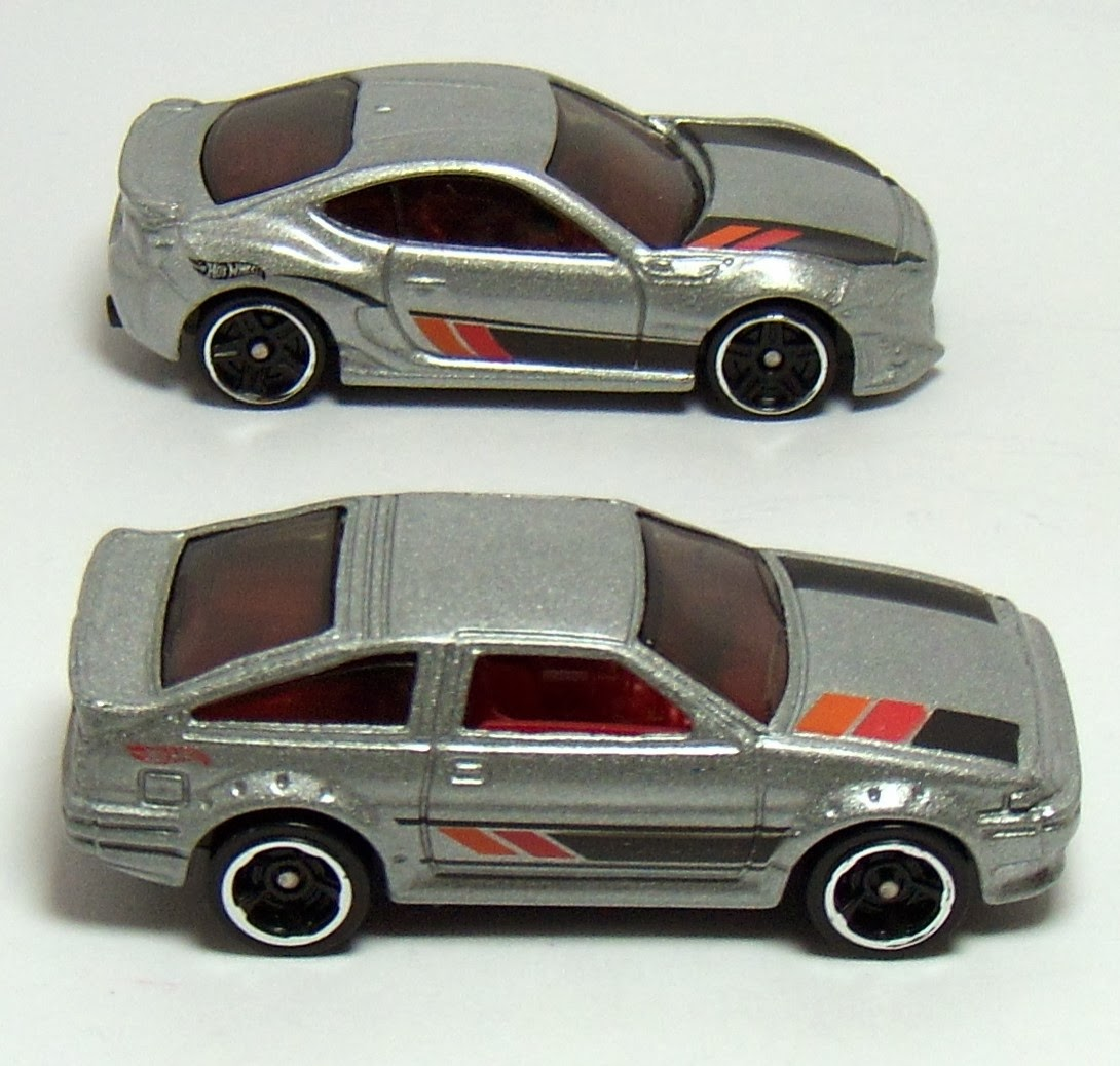 Two Lane Desktop: Hot Wheels Then and Now: Toyota AE-86 ...