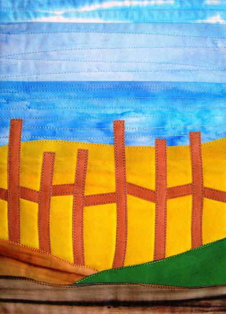 landscape quilt pattern