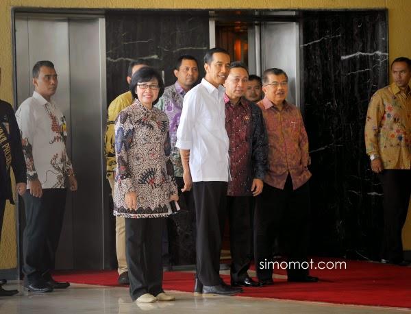 Kumpulan Foto - Foto Terbaik Persiapan Pelantikan Presiden Jokowi