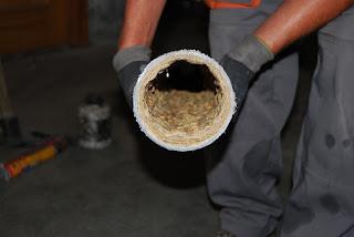 Villanueva y Geltrú: limpieza de tuberías