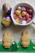 Easter Treat Recipe: Cute Easter Bunny Biscuits easter bunny cookies