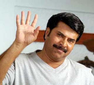 Mammootty waving hands