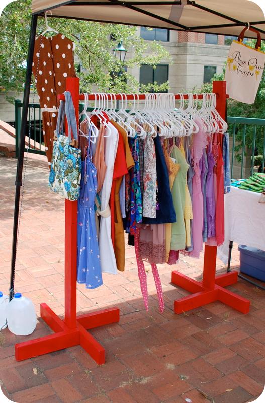 diy clothing rack sally ann