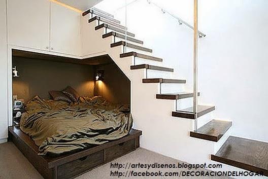 10 Modelos y Tipos de Escaleras para Interiores by artesydisenos.blogspot.com