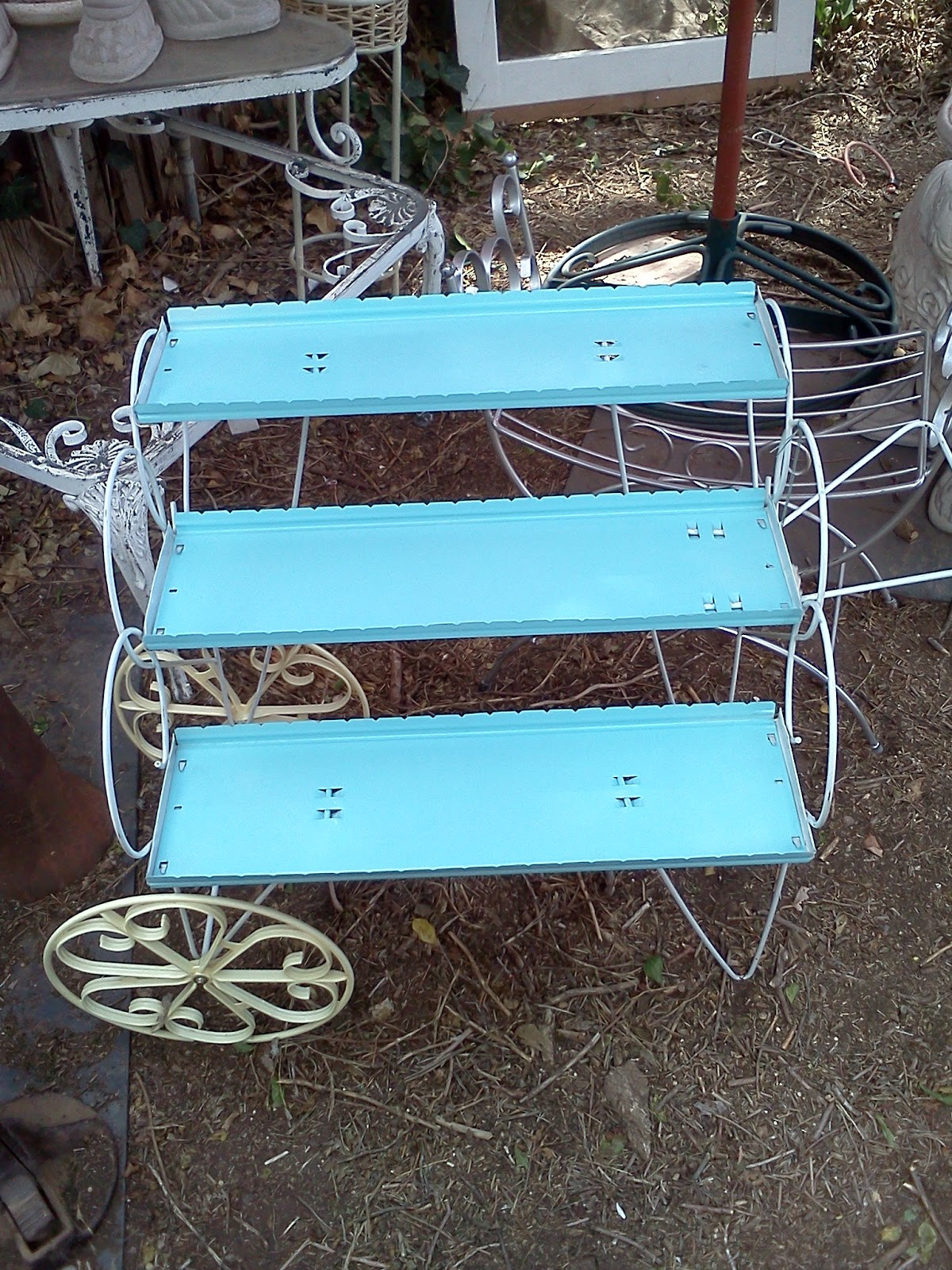 Maryland House Antiques Vintage Garden Cart Small With