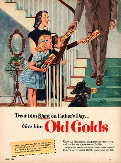 vintage Father's Day advertisement
