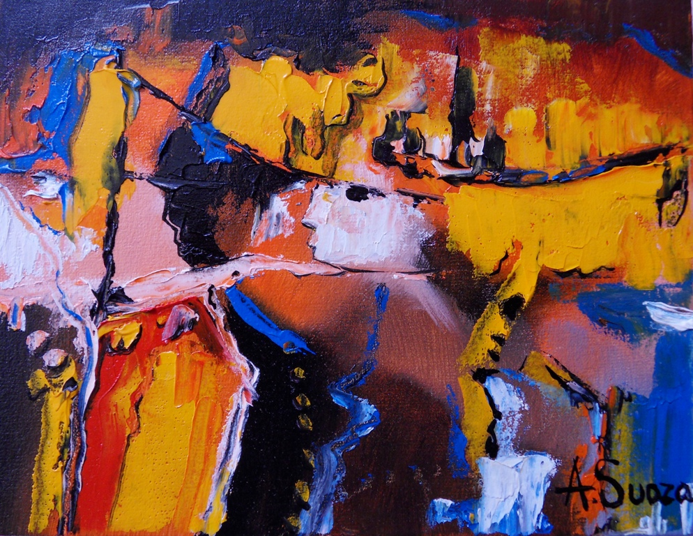 Cuadros pinturas oleos cuadros modernos decorativos for Cuadros verticales modernos