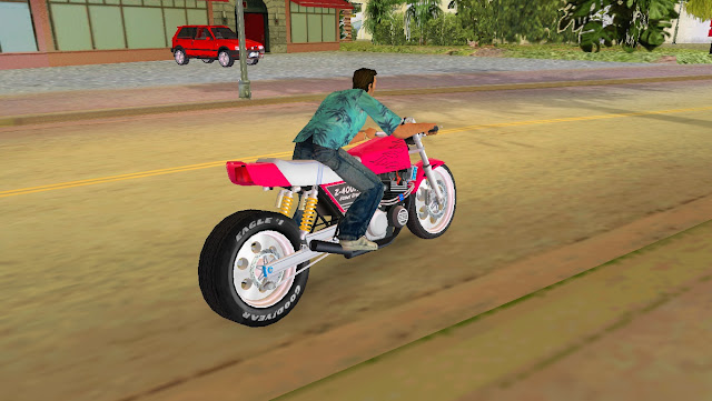 Kawasaki Z 400 FX GTA Vice City