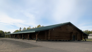Embarrass timber hall, mn, huisman log home construction