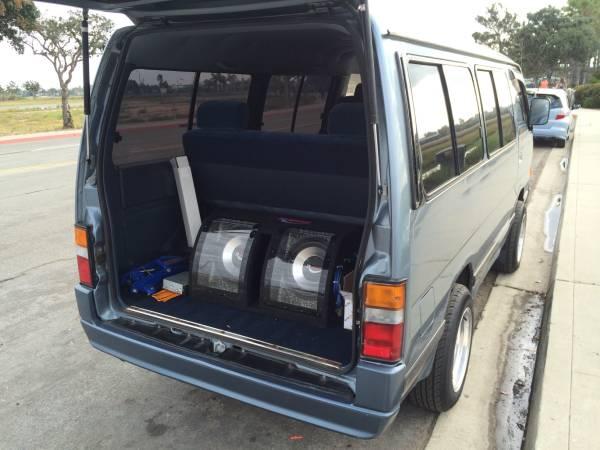 1990 Nissan Homy E24 4WD Van   Auto Restorationice