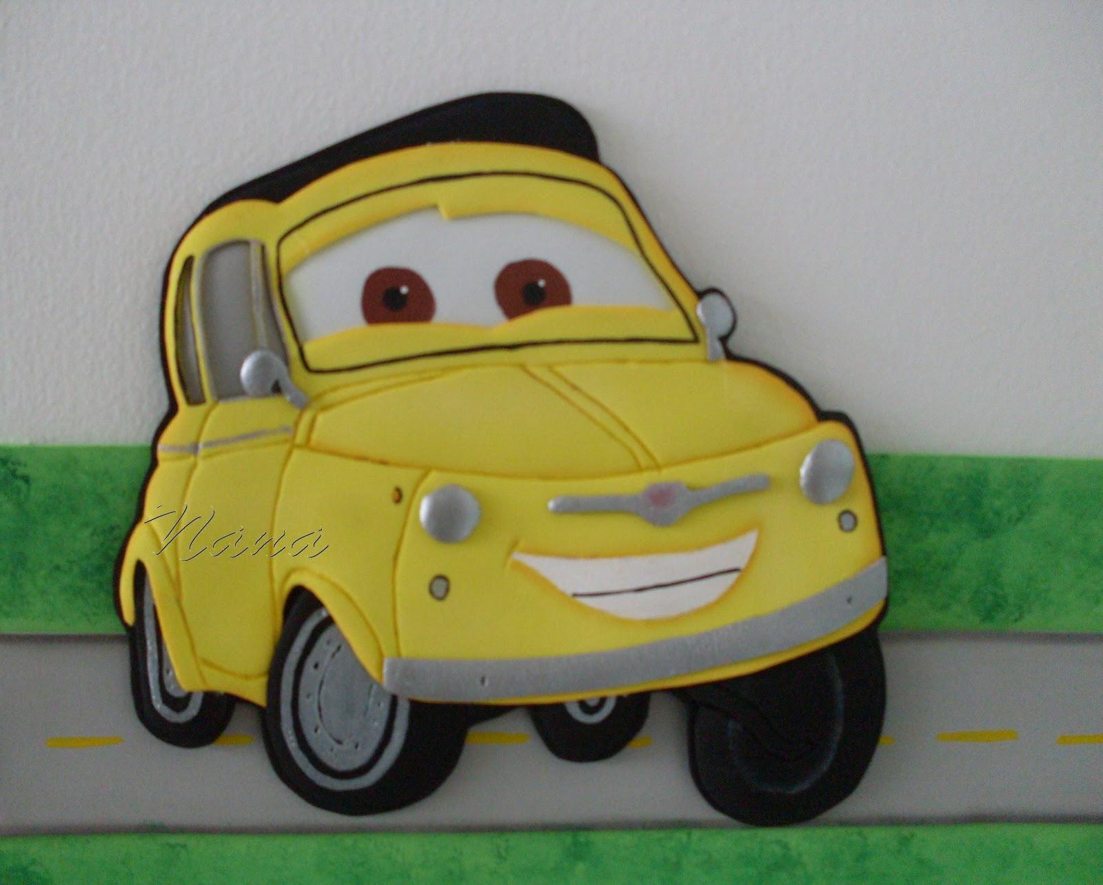 Como hacer un carro de Cars en foami - Imagui
