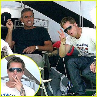 Brad Pitt smoke