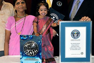 Wanita terpendek di dunia, Jyoti Amge