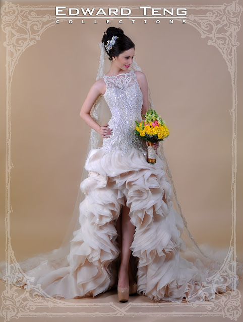 Bridal Gown by Edward Teng