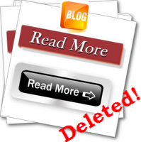 delete read more link blogger