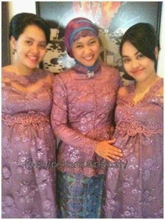 Kumpulan Foto Model Baju Kebaya Untuk Ibu Hamil Trend