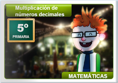 Multiplicación de decimales, decimales,Matemáticas,numeración