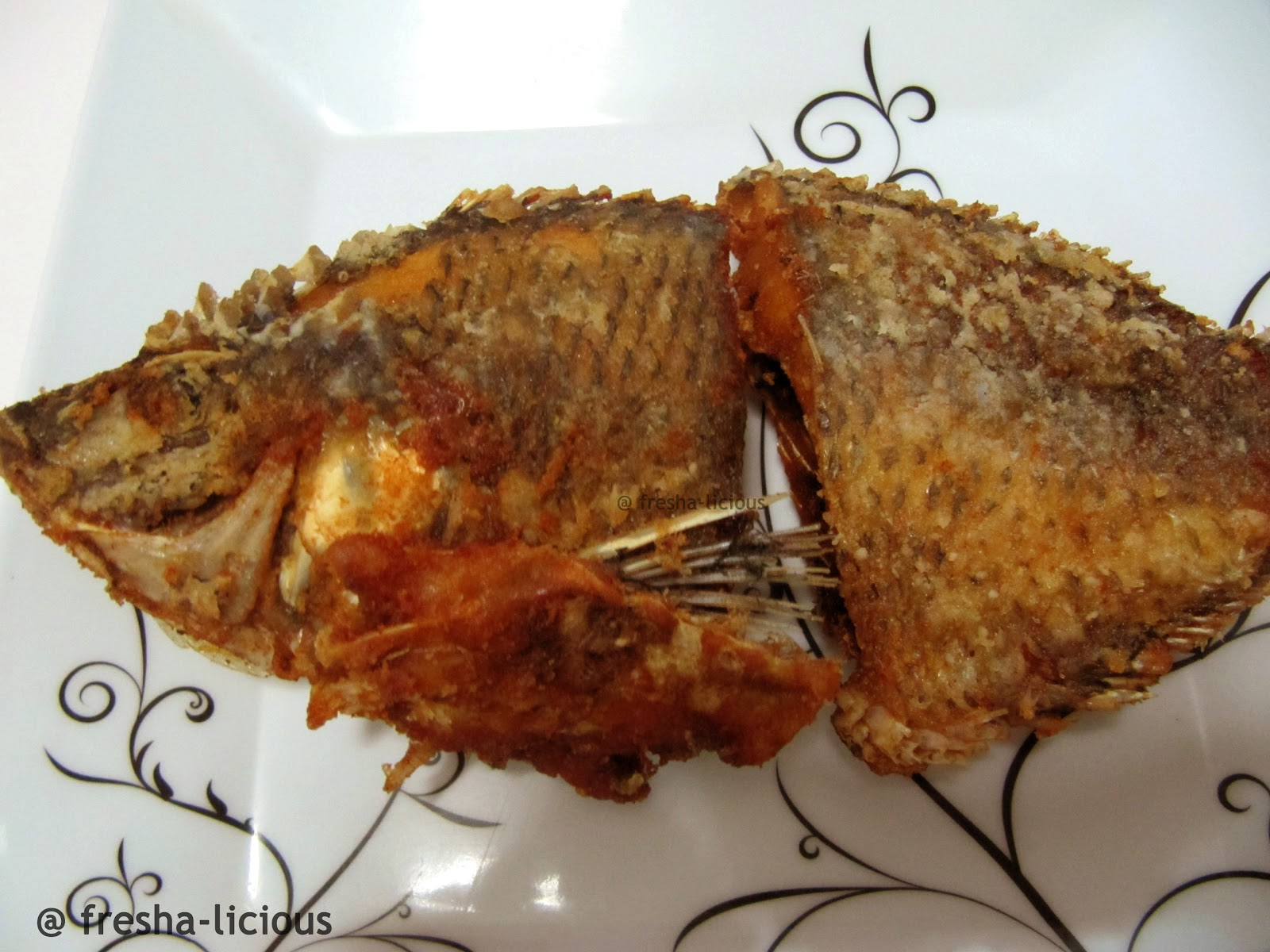 Fried tilapia fish for Fried tilapia fish
