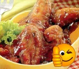 Resep Sayap Ayam Goreng Saus Madu