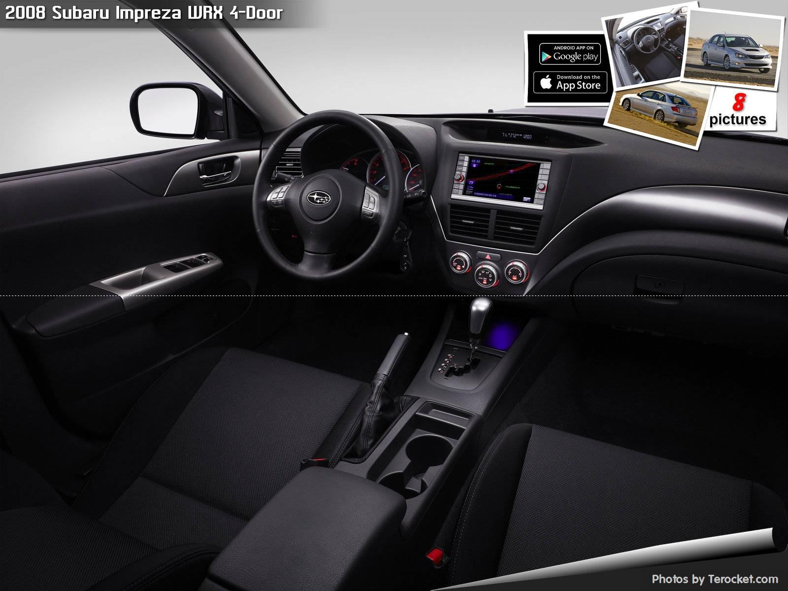 Hình ảnh xe ô tô Subaru Impreza WRX 4-Door 2008 & nội ngoại thất