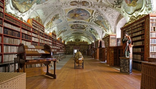 Strahov Monastery Library, Czech Republic