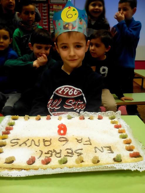 En Sergi ja té 6 anys!!